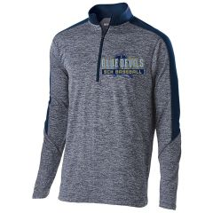 SCH Men's Holloway Striated 1/2 Zip Pullover