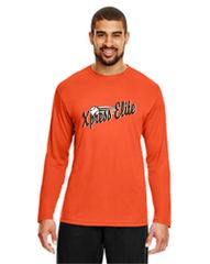 Xpress Orange Long Sleeve Wicking Youth and Adult
