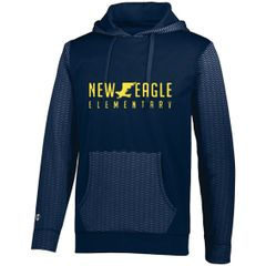 NEES Navy Wicking Sweatshirt youth and adult