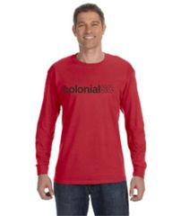 SC Red Long Sleeve Tee Youth and Adult