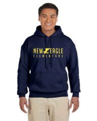 NEES Navy Sweatshirt youth and adult