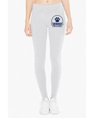 CE American Apparel Ladies' Cotton Spandex Jersey Leggings