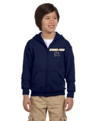 Sf Navy Full Zip Youth and Adult