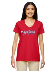 Revolution Red V neck