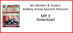 3. MP3 Net Menders & Tenders: Strong Apostolic Networks