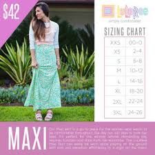 Lularoe Maxi Skirt Bundle of 3