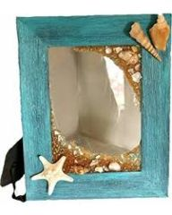 Distressed Hawaiian Beach Frames