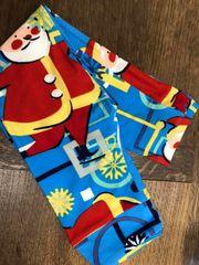 Lularoe Kids Leggings S/M: Happy Santa Claus
