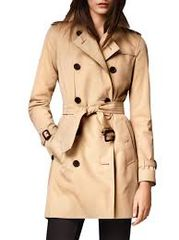Kensington Mid Trench Coat: Size 6 (Italy: 40)