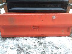Original GMC Orange Tailgate Bench