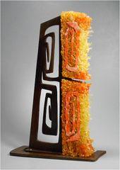 Lin McJunkin & Milo White, Orange Swirl