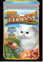 PRINCESS POUCHES 70G