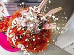 Liliums and Chrysanthemum