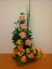 L SHAPE FLOWER ARRANGEMENT