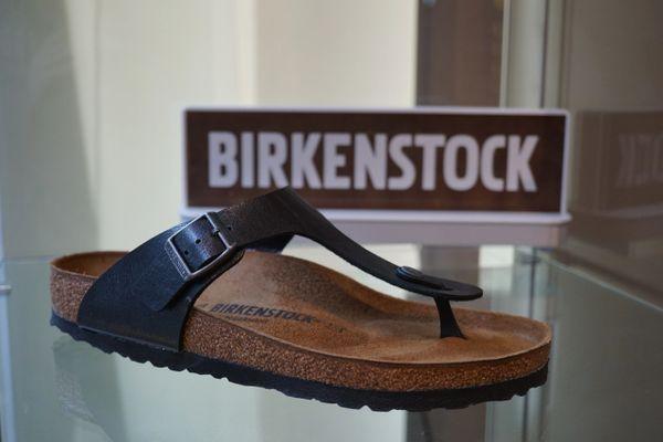 1df760220d5 Birkenstock Gizeh Graceful Licorice Birko-Flor