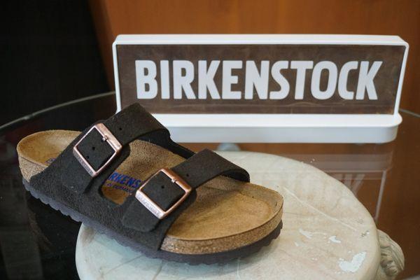 9f10d1b0fe2 Birkenstock Arizona Mocha Suede