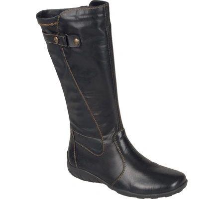 c612fa4c72e84 Rieker Liv 73 Black Leather Boot   Comfort shoe store in Downtown Seattle