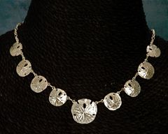 Gold Sanddollar Necklace