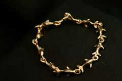 Dolphin Bracelet in 14K Gold - Small