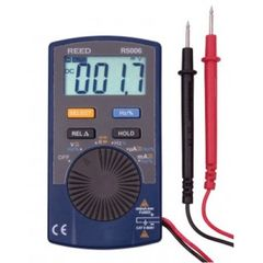 REED R5006 600V AC/DC Autoranging Pocket Multimeter