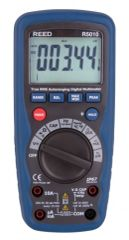 REED R5010 WATERPROOF TRMS AC/DC MULTIMETER WITH TEMPERATURE, 1000V AC/DC (ST-9919)