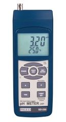 REED SD-230 SD Series pH/ORP Datalogger, 0.00 to 14.00 pH / 0-1999 mV