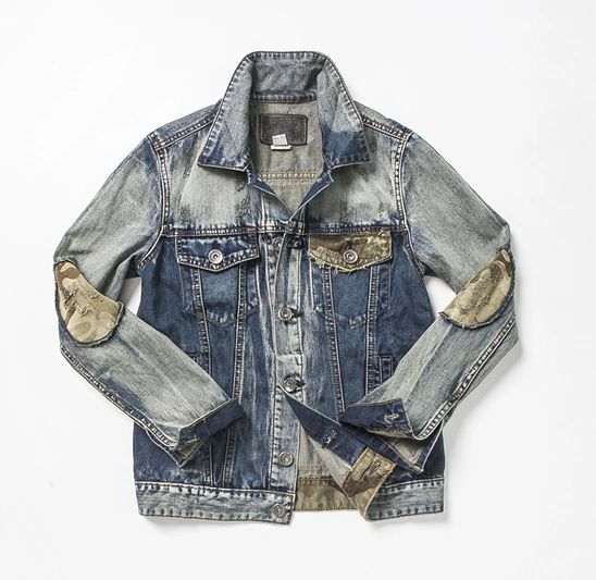 TAYLOR CAMO Custom Denim Jean Jackets