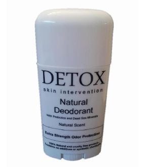 All Natural Deodorant with Dead Sea Salt Minerals and Probiotics