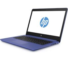 HP Pavilion 14 Inch Laptop In Marine Blue