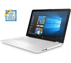 "HP 15""6 Latest 8th Gen i5 Laptop Package In White / Graphite"