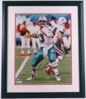 6e04552c6d8 Dan Marino Miami Dolphins Autographed 22 x26 Custom Framed Photo, Mounted  Memories COA and Marino Hologram | Gridiron Greats: Authentic Autographed  NFL ...