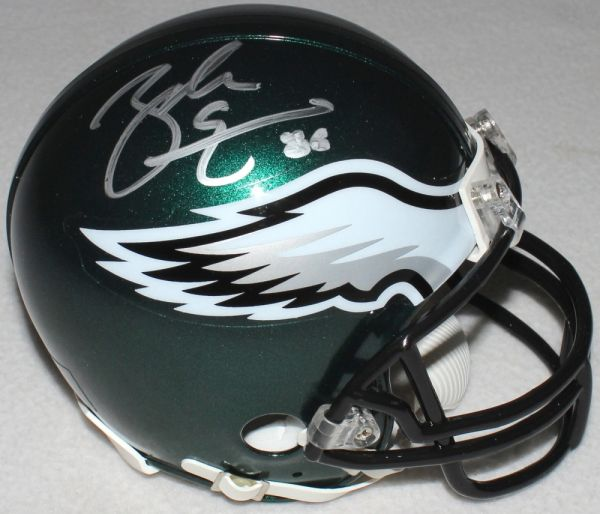 4fc0d46ef49 Zach Ertz Autographed Philadelphia Eagles Mini-Helmet, inscribed