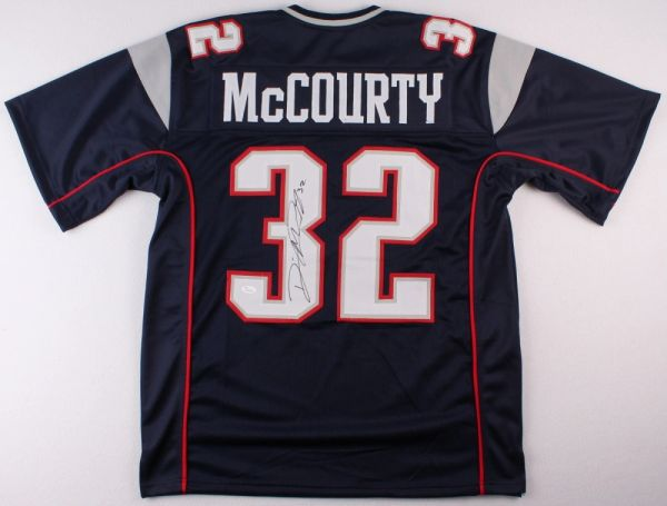 Devin McCourty Autographed New England Patriots Jersey, JSA COA