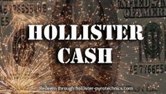 Hollister Pyro cash gift cards