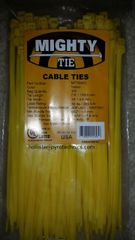 """7"""" Cable Tie Colored 50lb Rated 100 Pack"""