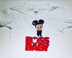Boss Baby Tee Shirt - Tee Brand Rabbit Skins