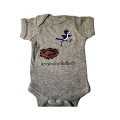 -Infant Baby Rib Bodysuit - Are you my mother?