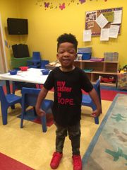 my sister is DOPE Bella + Canvas Jersey Tee - For every tee purchase we donate $5.00 to St. Jude