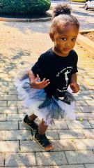 Black & White Tutu with Satin Bow - Pricing by size - up to 6 months $22, 12-24 months $30, and $35 all other sizes up to size 7