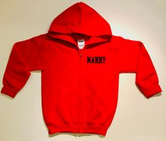 Comfy Heavy Blend Youth Full Zip Hoodie - Personalized