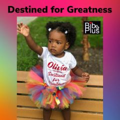 Handcrafted Rainbow Tutu with Satin Bow - Pricing by size - up to 6 months $22, 12-24 months $30, and $35 all other sizes up to size 7