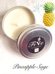 Hand Poured Soy Candles 6 oz Tin - A Variety of Offerings