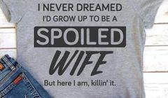 Spoiled WIFE - Killin' it - Gildan Ladies Missy Fit Tee