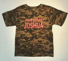 Youth Camouflage Green Digital Tee