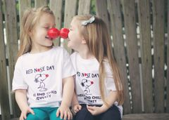 -Children Tee - Red Nose Day - Help End Child Poverty