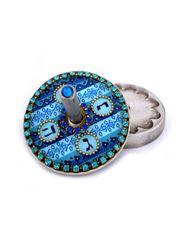 Iris Designs - Round Dreidel - Various Colors