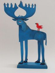 Acme - Blue Moose Menorah