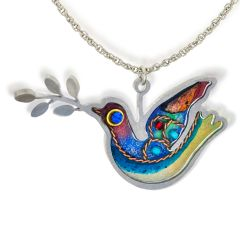 Seeka - Dove Necklace - 1430062