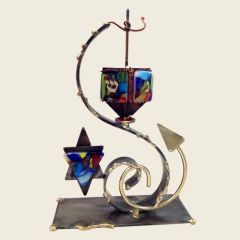 Rosenthal - Whimsical Star Dreidel