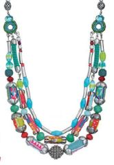Ayala Bar - Beaded Necklace from Shell Beach Collection